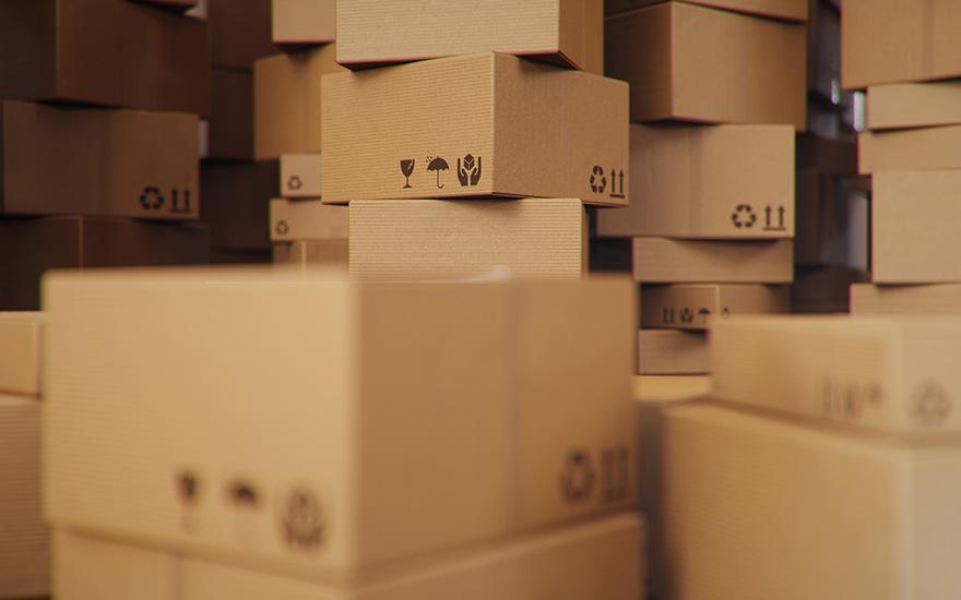 Kartony wmagzynie